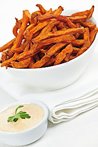 Oven Baked Rutabaga or Jicama Fries